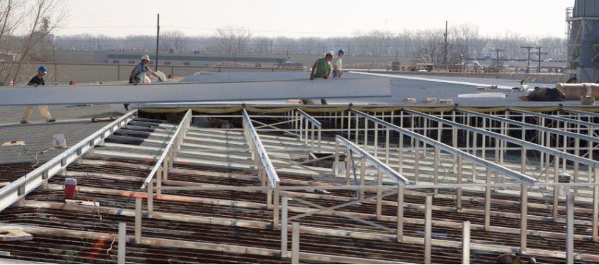Re-roof In Progress 2
